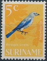 Surinam 1966 Birds e