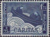 Belgium 1927 Anti Tuberculosis - Boat Adrift d
