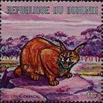 Burundi 1971 Animals o