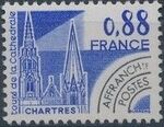 France 1979 Historic Monuments - Pre-cancelled (1st Issue) b