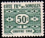 French Somali Coast 1947 Postage Due Stamps c
