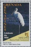 Grenada Grenadines 1995 100th Anniversary of Sierra Club - Endangered Species q