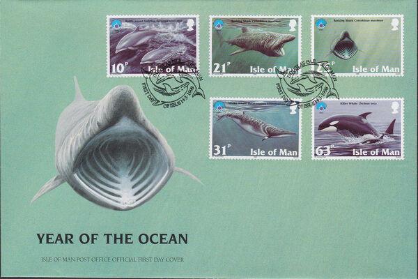 Isle of Man 1998 Year of the Ocean - Marine Mammals h