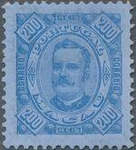 Macao 1894 Carlos I of Portugal k