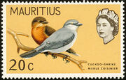 Mauritius 1965 Birds in Natural Colors g