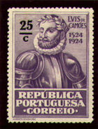 Portugal 1924 400th Birth Anniversary of Camões k