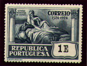 Portugal 1924 400th Birth Anniversary of Camões u