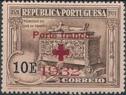 Portugal 1932 Red Cross - 400th Birth Anniversary of Camões f