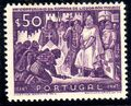 Portugal 1947 800th Anniversary of the recapture of Lisboa from the Moor c.jpg