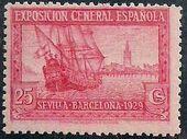 Spain 1929 Seville-Barcelona Exposition g