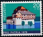 Switzerland 1978 PRO PATRIA - Castles a