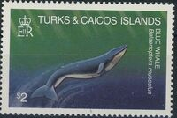 Turks and Caicos Islands 1983 Save Our Whales f