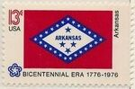 United States of America 1976 American Bicentennial - Flags of 50 States y