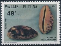 Wallis and Futuna 1987 Sea Shells e