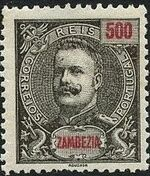 Zambezia 1901 D. Carlos I a