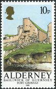 Alderney 1986 Alderney Forts a