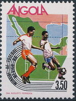Angola 1986 World Cup - Mexico 86 b