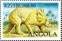 Angola 1998 Prehistoric Animals (3rd Group) h
