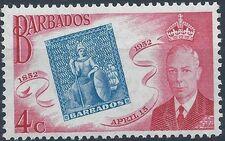 Barbados 1952 Centenary of Barbados Postage Stamps b