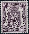 Belgium 1946 Coat of Arms - Official Stamps e.jpg