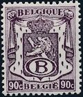 Belgium 1946 Coat of Arms - Official Stamps e