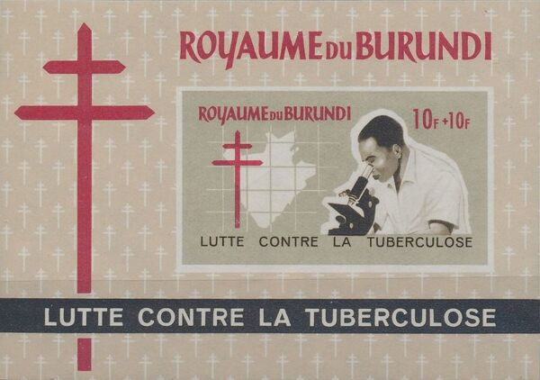Burundi 1965 Fight Against Tuberculosis g