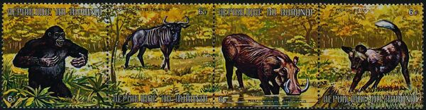 Burundi 1971 Animals ae