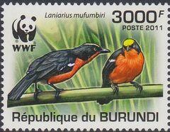 Burundi 2011 WWF Papyrus Gonolek a