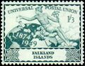 Falkland Islands 1949 75th Anniversary of Universal Postal Union UPU c.jpg