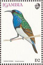 Gambia 1993 Birds of Africa b