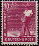 Germany-Allied Occupation 1947 2nd Allied Control Council Issue i