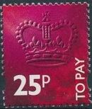 Great Britain 1994 Postage Due Stamps f