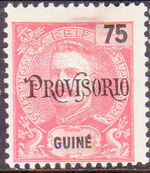 Guinea, Portuguese 1902 D. Carlos I Overprint d