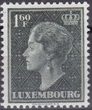 Luxembourg 1949 Grand Duchess Charlotte (2nd Group) d