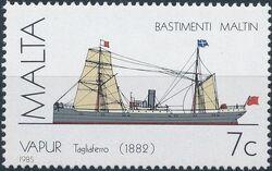 Malta 1985 Maltese Ships (3rd Series) b