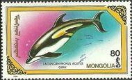 Mongolia 1990 Marine Mammals f