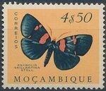 Mozambique 1953 Butterflies and Moths o