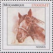 Mozambique 2002 The Wonderful World of Horses c