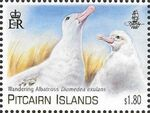 Pitcairn Islands 2014 Albatross Giants of the Sky a