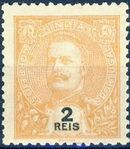 Portuguese India 1903 D. Carlos I - New Colours and Values c