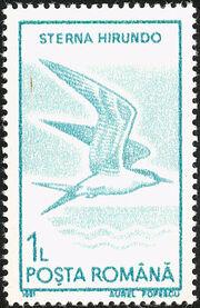 Romania 1991 Water birds b