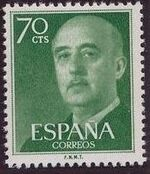 Spain 1955 General Franco i