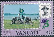 Vanuatu 1982 75th Anniversary of Boy Scout Movement d