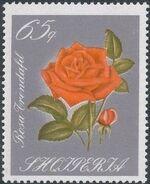 Albania 1967 Roses g