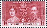 British Virgin Islands 1937 George VI Coronation a