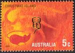 Christmas Island 2002 Year of the Horse c