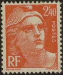 France 1945 Marianne de Gandon (1st Group) c