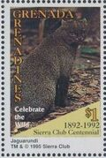 Grenada Grenadines 1995 100th Anniversary of Sierra Club - Endangered Species n