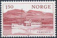 Norway 1981 Lake Transportation c