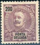 Ponta Delgada 1897 D. Carlos I l